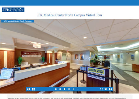 JFK Medical Center North Campus Virtual Tour