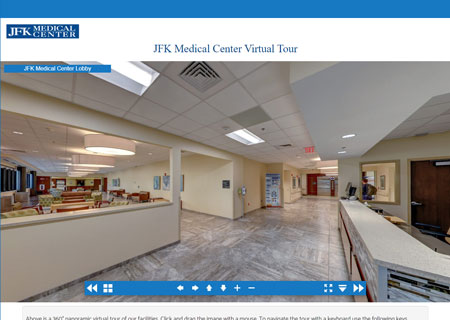 JFK Medical Center Virtual Tour
