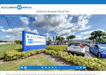 Raulerson Hospital Virtual Tour
